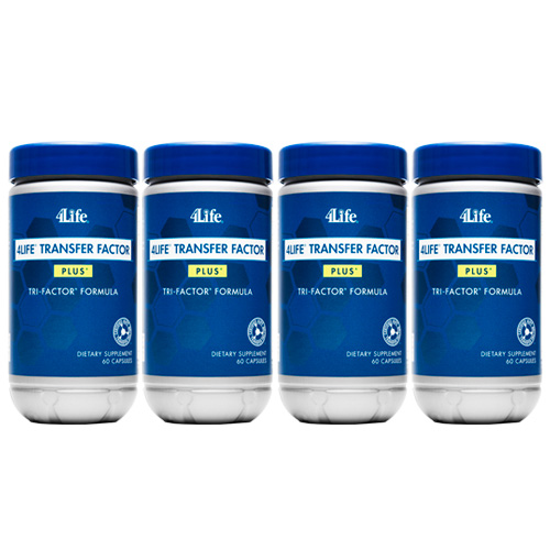 4life Transfer Factor Plus Tri-factor Formula 4 Pack